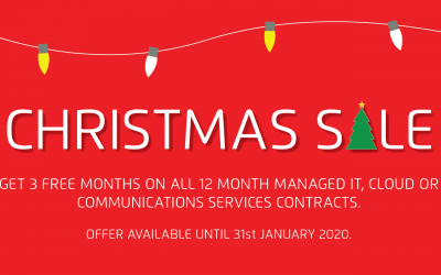 3 months FREE IT Services this Christmas and New Year
